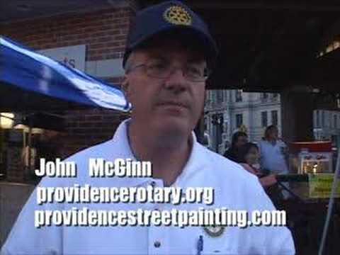 Rotary Providence pt22 Street Painting John McGinn