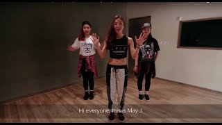 Dance tutorial   MTBD - CL(2NE1)   May J Lee Choreography