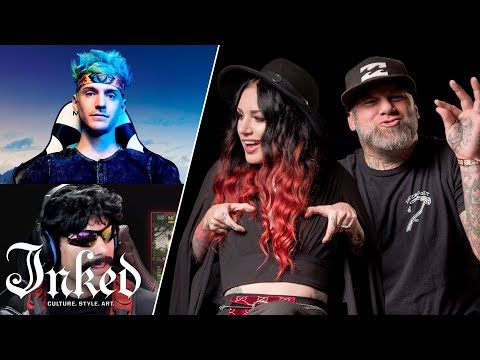 Tattoo Artists React To Twitch Streamer's Tattoos | Tattoo Artists React