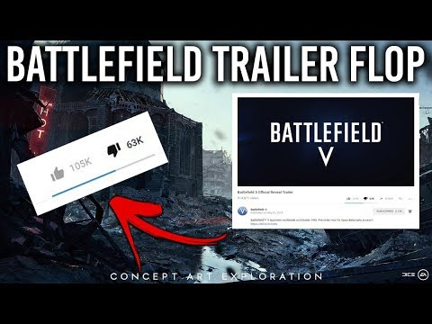 Why the Battlefield V Trailer Was a HUGE FAILURE