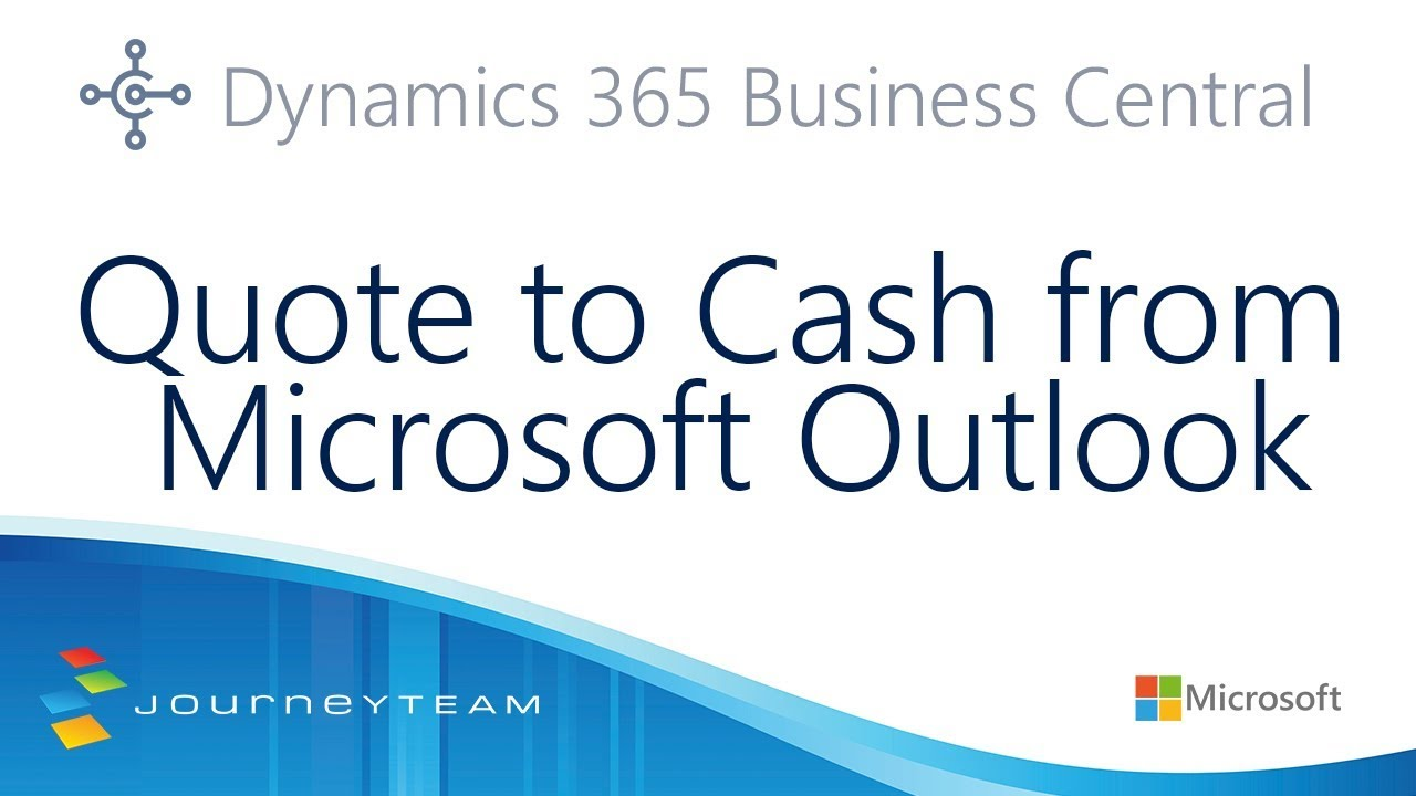 Quote to Cash from Dynamics 365 for Sales to Business Central