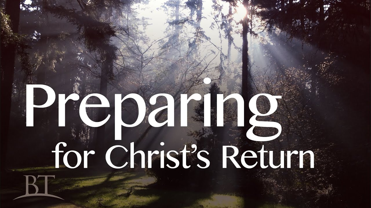 Preparing for Christ's Return | United Church of God