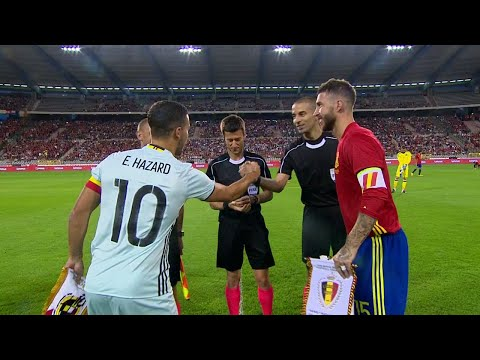 Eden Hazard vs Spain (Home) 16-17 HD 720p By EdenHazard10i