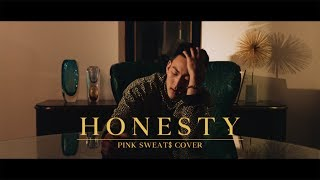 Gambar cover HONESTY - PINKSWEAT$ (JUSTIN PARK COVER)