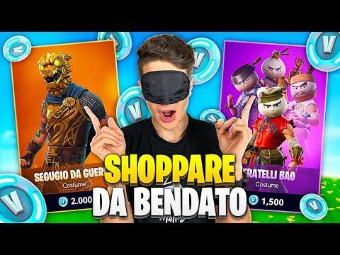 SHOPPARE da BENDATO CHALLENGE nella STAGIONE 9!! QUANTE SKIN😱 Fortnite