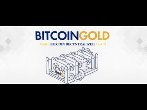 Bitcoin Gold Mining For Real