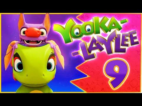 Yooka-Laylee 100% Walkthrough Part 9 (PS4, PC, XONE) - Capital Cashino Expanded - No Commentary