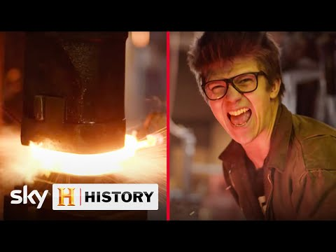 Alec Steele is one of Britain's youngest blacksmiths | Forged In Britain | Forged in Fire