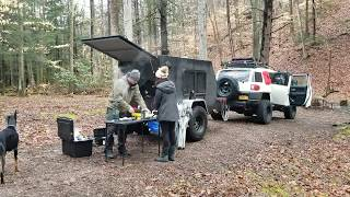 Spring 2018 Overland Camping Adventure Video