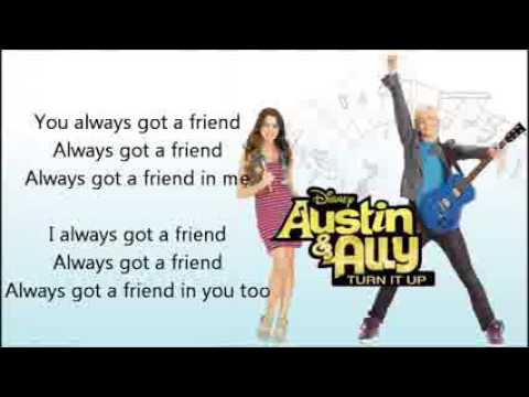 02   Me & You Lyrics FULL SONG   Laura Marano   Austin & Ally