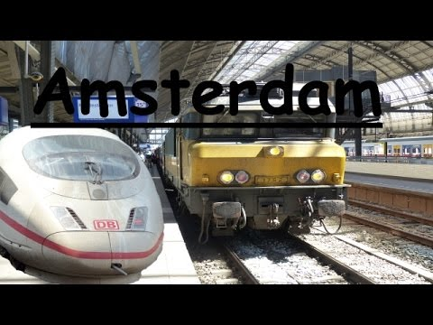 Meine Zugreise nach Amsterdam