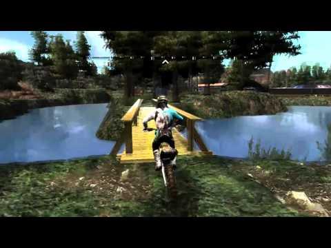 MX vs ATV REFLEX - Custom Track Review - Lake Valley Compound (HUGE)