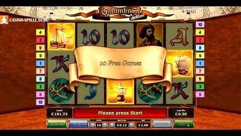 Columbus Deluxe Tricks - Columbus deluxe kostenlos spielen