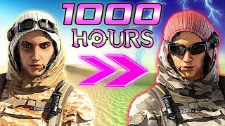 What 1000 HOURS of NOMAD Experience Looks Like - Rainbow Six Siege