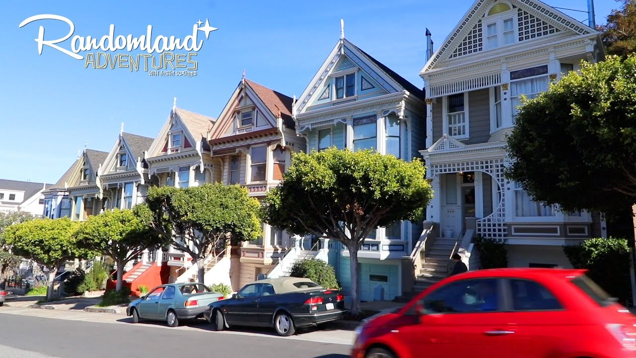 San Francisco Full House Mrs Doubtfire Painted Ladies Yoda