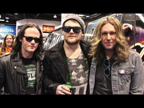 We Are Harlot Interview at NAMM 2014 with Danny Worsnop, Jeff George, Brian Weaver