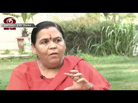 Do Saal Modi Sarkar: Interview with Union Minister Sushri Uma Bharti