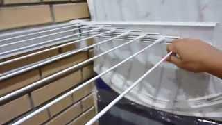 Сушилка для белья Leifheit(Это видео создано с помощью видеоредактора YouTube (http://www.youtube.com/editor), 2015-08-01T13:37:43.000Z)