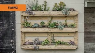How to Create a Pallet Garden Mitre 10 Easy As