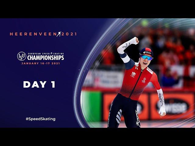 LIVE 🔴   Day 1   ISU European Speed Skating Championships   #EuroSpeed