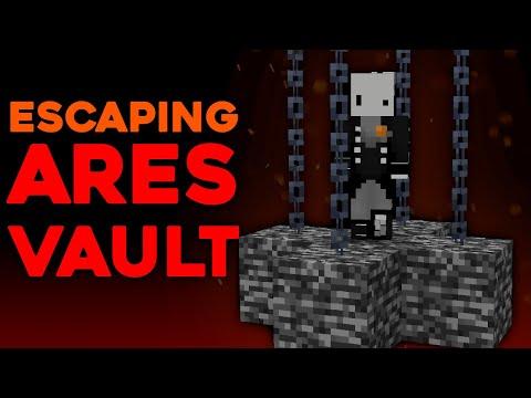 Escaping Minecraft's Deadliest Prison (ares vault) ft. jjkay03