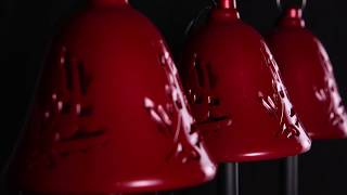 60759 Mr. Christmas Musical Bells Pathway Bells Red Video
