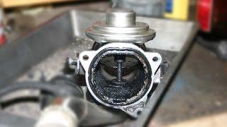 AGR Ventil ausbauen und reinigen VW Touran / EGR valve remove & clean