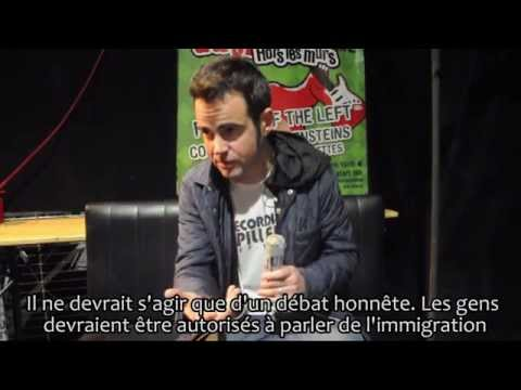 INTERVIEW Andy « Falco » Falkous (Future of the Left) @Vienne (22/11/2015)