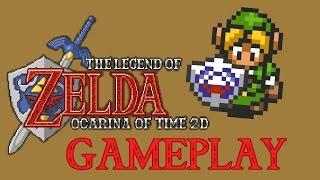 Zelda Ocarina of Time 2D Full Playthrough