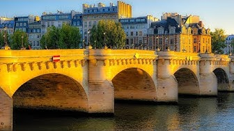 A Walk On and Over and Under The Pont Neuf, Paris