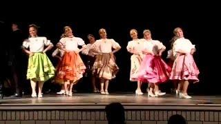 Danzas y folclor tradicional de Mexico - Monterrey, zapateado