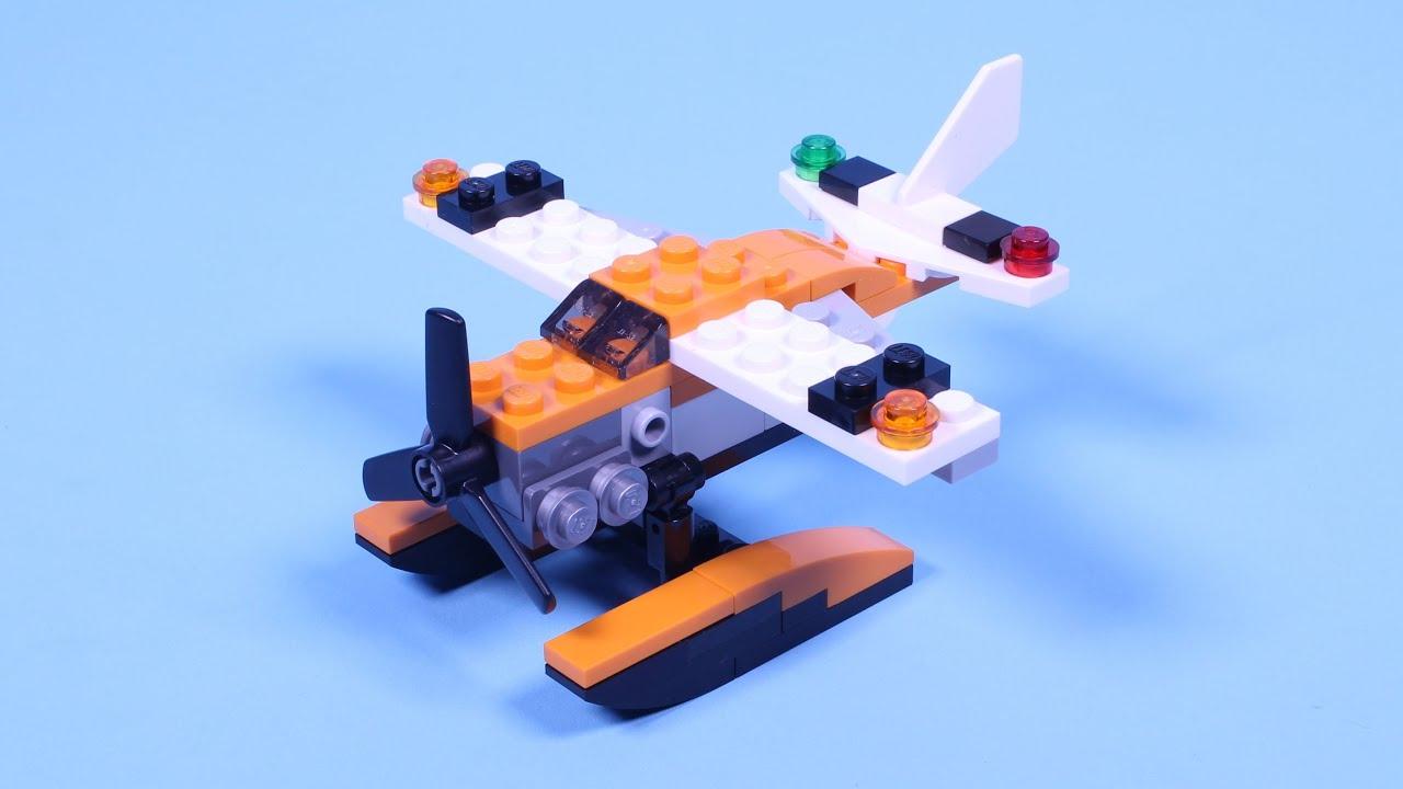 Lego Sea Plane Animated Building Instructions Lego Creator 31028