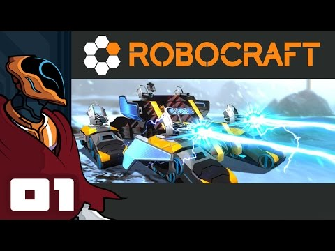Let s play robocraft multiplayer pc gameplay part 1 teamwork is hard