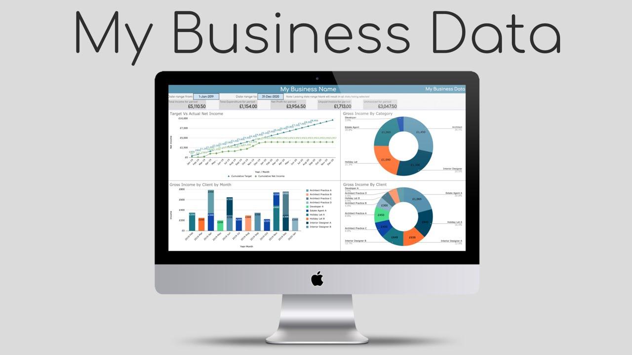 My Business Data Pre release intro