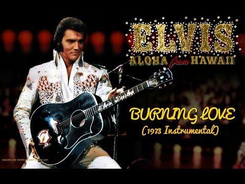 "Burning Love Live 1973 in the style of ""Elvis Presley"" (Instrumental/Karaoke)"