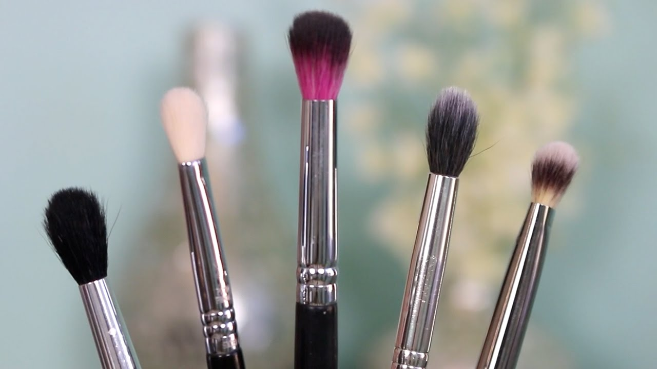 Top Makeup Brushes For Blending Eyeshadow Youtube
