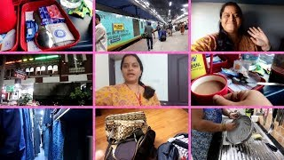 preparation for vacation||WENT TO DELHI||TRAVEL VLOGS Train journey...