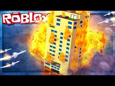 TSUNAMİ,DEPREM VE YANAN OTELDE HAYATTA KALMA / Roblox Disaster Hotel / Roblox Türkçe / Oyun Safı