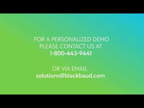 Blackbaud Grantmaking  ||  Applicant Experience