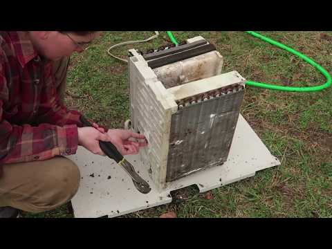 Refrigeration Experiment 01: AC Window Units Teardown, Everything Is Broken, Repair Siezed Motor