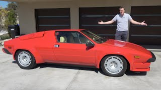 homepage tile video photo for The Lamborghini Jalpa Is the Forgotten 1980s Baby Lambo