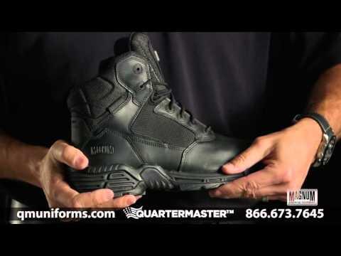 "Magnum 6"" Stealth Force Side Zip Composite Toe Boot at Quartermaster - FW017"