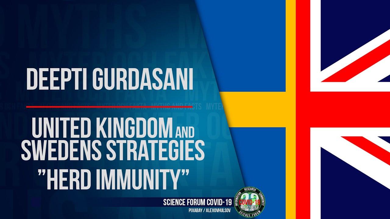 UK and Swedens strategy - herd immunity   Kort klipp