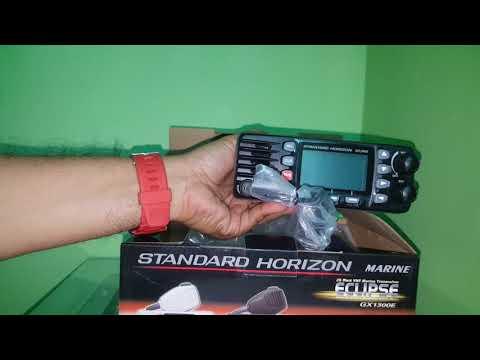 Standard horizon marine radio