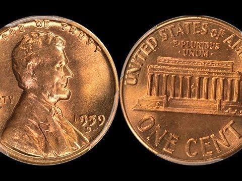 1959 LINCOLN CENT SELLS FOR $1,900.00 - Check Your Pennies for These Valuable Coins!