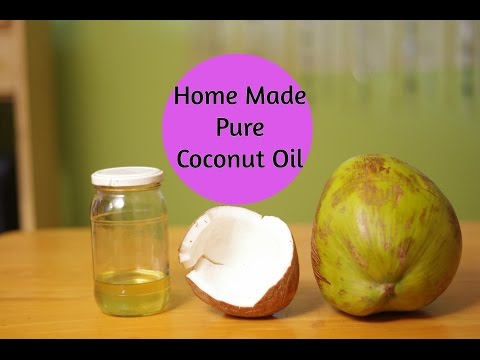 How To Make PURE Coconut Oil At Home For Beautiful Skin & Hair  Sushmita's Diaries