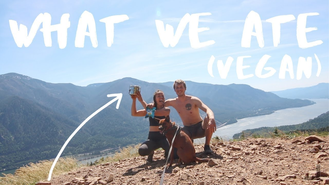 What I Ate in the Great Outdoors (Vegan)