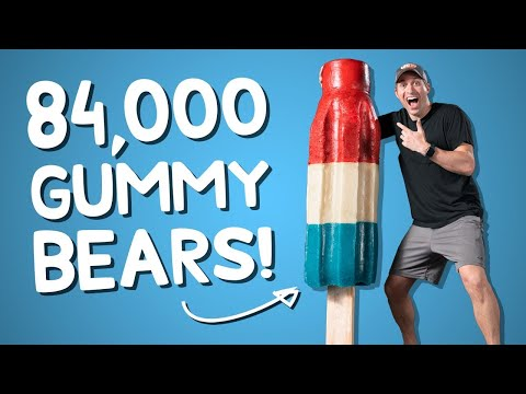 We Made the World's Largest Gummy Bomb Pop • This Could Be Awesome #21
