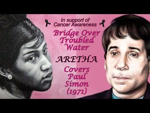 Aretha Franklin  - Bridge Over Troubled Water - w-Lyrics (1971)