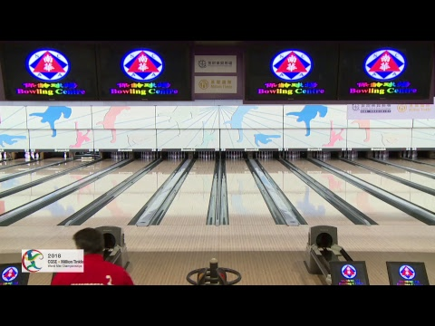 Trios Squad 1 Block 1 - World Bowling Men's Championships